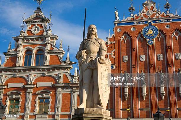 Brotherhood of Blackheads House, Old Town, UNESCO World Heritage Site, Riga, Latvia, Europe