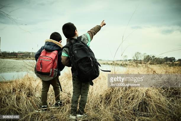兄弟の冒険ツアー