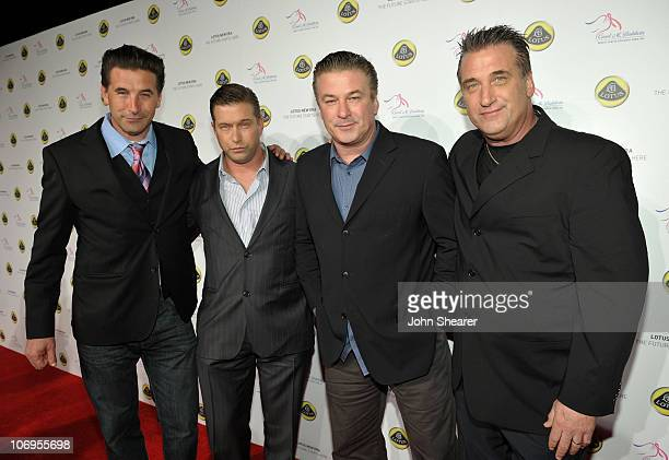 Brothers Billy Baldwin Stephen Baldwin Alec Baldwin and Daniel Baldwin arrive at the US Launch Event for New Lotus Cars held at a private residence...