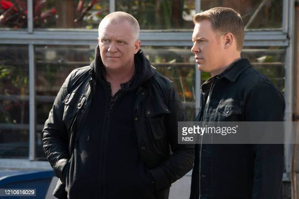 THE BLACKLIST Brothers Episode 718 Pictured Anthony Michael Hall as Robby Ressler Diego Klattenhoff as Donald Ressler