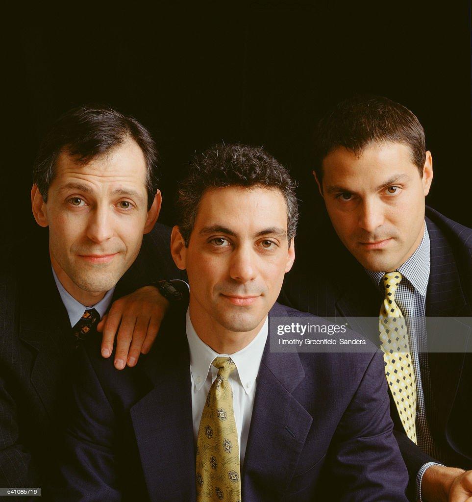 Brothers Ezekiel, Ariel and Rahm Emanuel