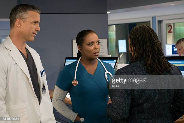 MED Brother's Keeper Episode 204 Pictured Jeff Hephner as Jeff Clarke Marlyne Barrett as Maggie Lockwood