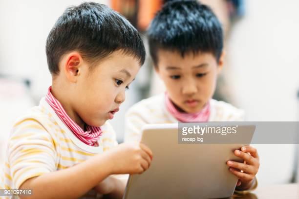 デジタル タブレットの読み取りの兄弟