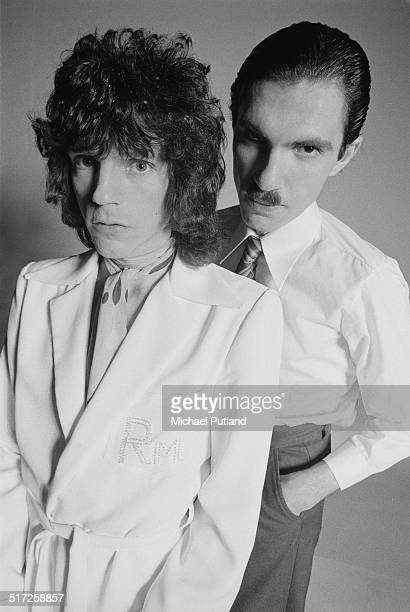 Brothers Russell and Ron Mael of American rock group Sparks, 1974.