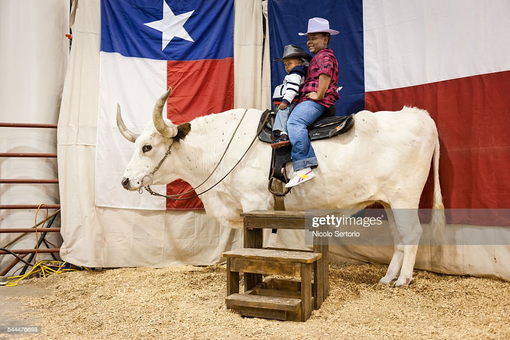 Souvenir photo opportunity at the Texas State Fair
