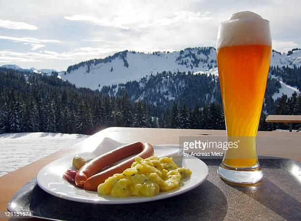Brotzeit and beer