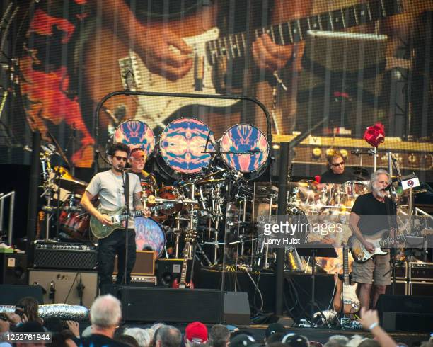 Brought their newest tour to the Folsom Field in Boulder, CO. On June 9, 2017.