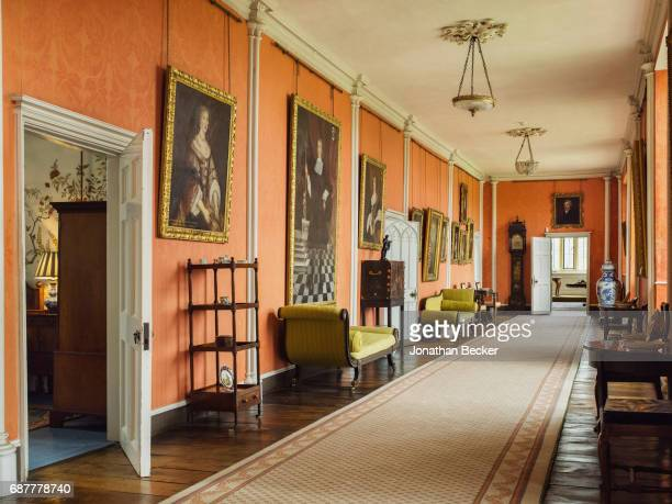 Broughton Castle is photographed for Great Houses Modern Aristocrats on September 8 2015 in Oxfordshire England