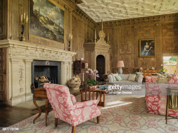 Broughton Castle is photographed for Great Houses Modern Aristocrats on September 8, 2015 in Oxfordshire, England.