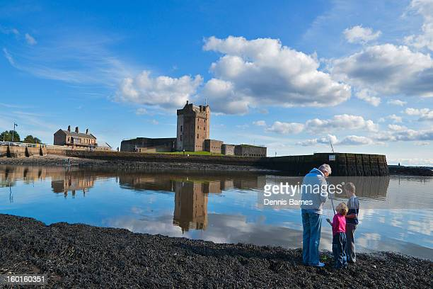 Broughty Ferry Castle, River Tay, Dundee,   Scotla