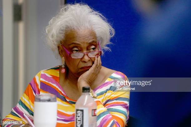 Broward County Supervisor of Elections Brenda Snipes, and the Broward County canvassing board continue to count votes in Lauderhill, Fla., on Nov. 9,...