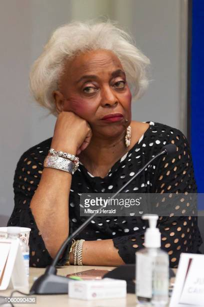 Broward Elections Supervisor Brenda C. Snipes at her offices in Lauderhill, Fla., as the canvassing board reviews ballots on Saturday, Nov. 10, 2018.