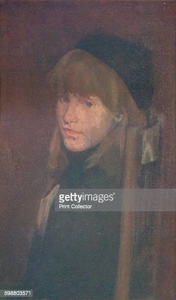 Brown and Gold Lillie In Our Alley 1896 Lillie Pamington a child model found by James McNeill Whistler on the streets of London From Whistler As I...