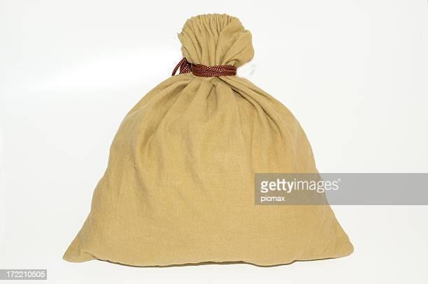 ブラウンのバッグ