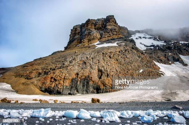 Brown Bluff Basalt Tuya, Antarctica