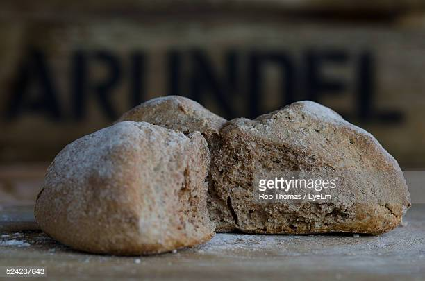 Brown Bread On Table