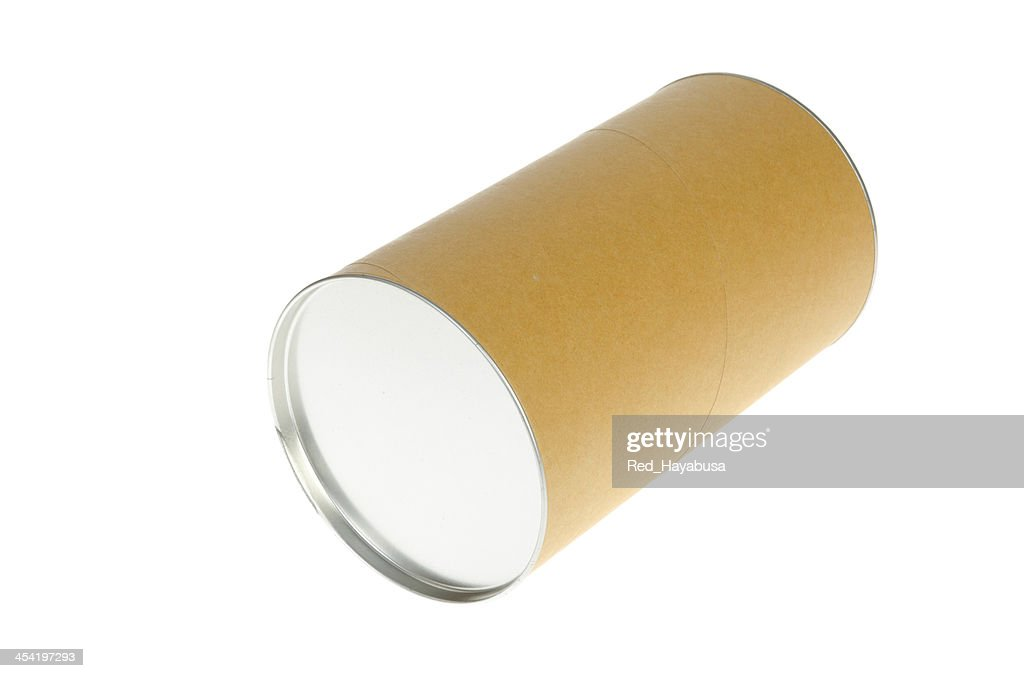 brown can : Stock Photo