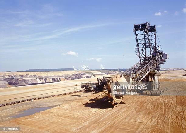 Brown coal opencast mining Garzweiler