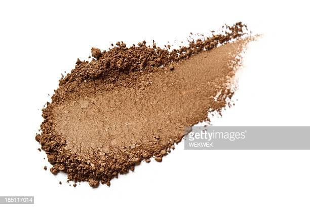 brown color eyeshadow - eyeshadow stock pictures, royalty-free photos & images