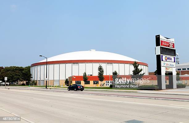 Brown County Veterans Memorial Arena on August 31 2015 in Green Bay Wisconsin