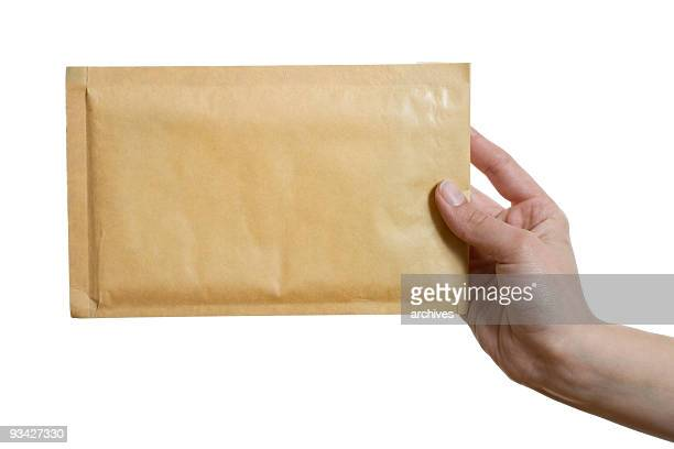 brown envelope - send stock pictures, royalty-free photos & images