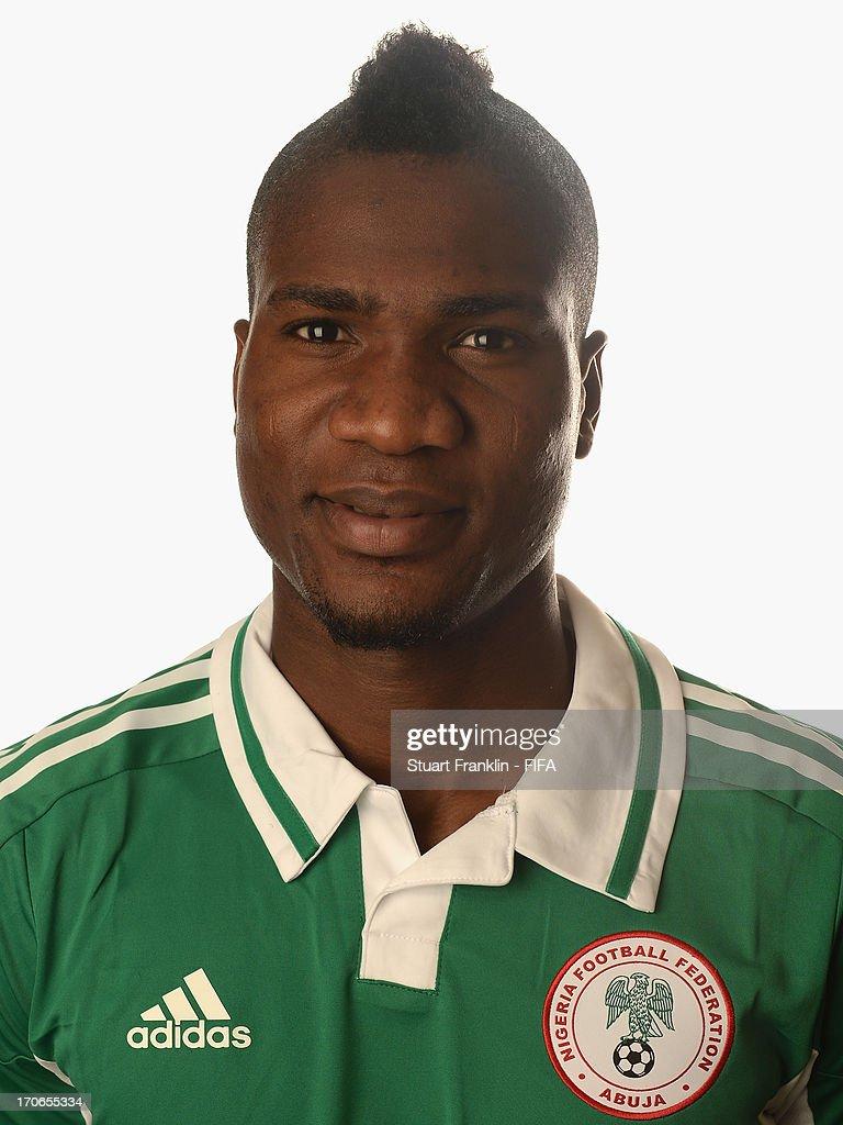 Nigeria Portraits - 2013 FIFA Confederations Cup Brazil