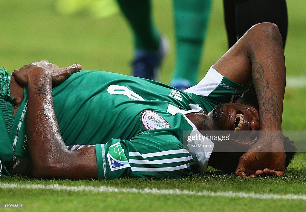 Nigeria v Uruguay: Group B - FIFA Confederations Cup Brazil 2013