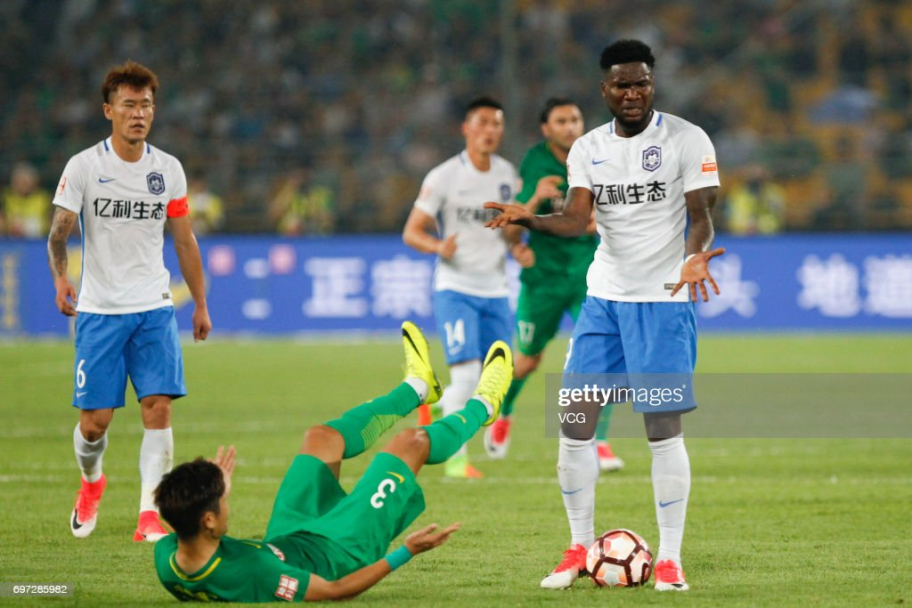 Chinese Super League - Beijing Guoan v Tianjin Teda