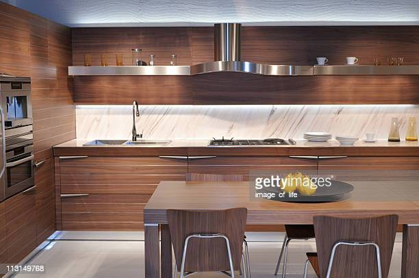 Brown Kitchen by Italy