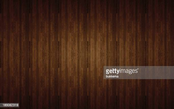 Brown laminated flooring