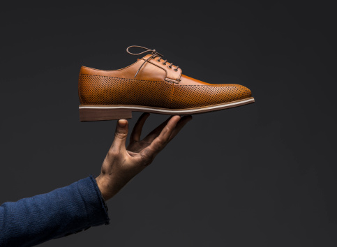 Brown Leather Shoe 187310279