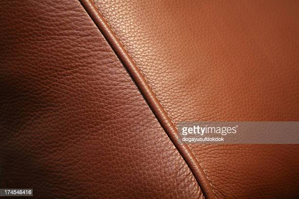 A brown leather texture background