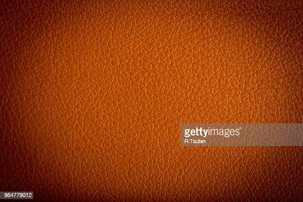 brown leather texture can be used as a background