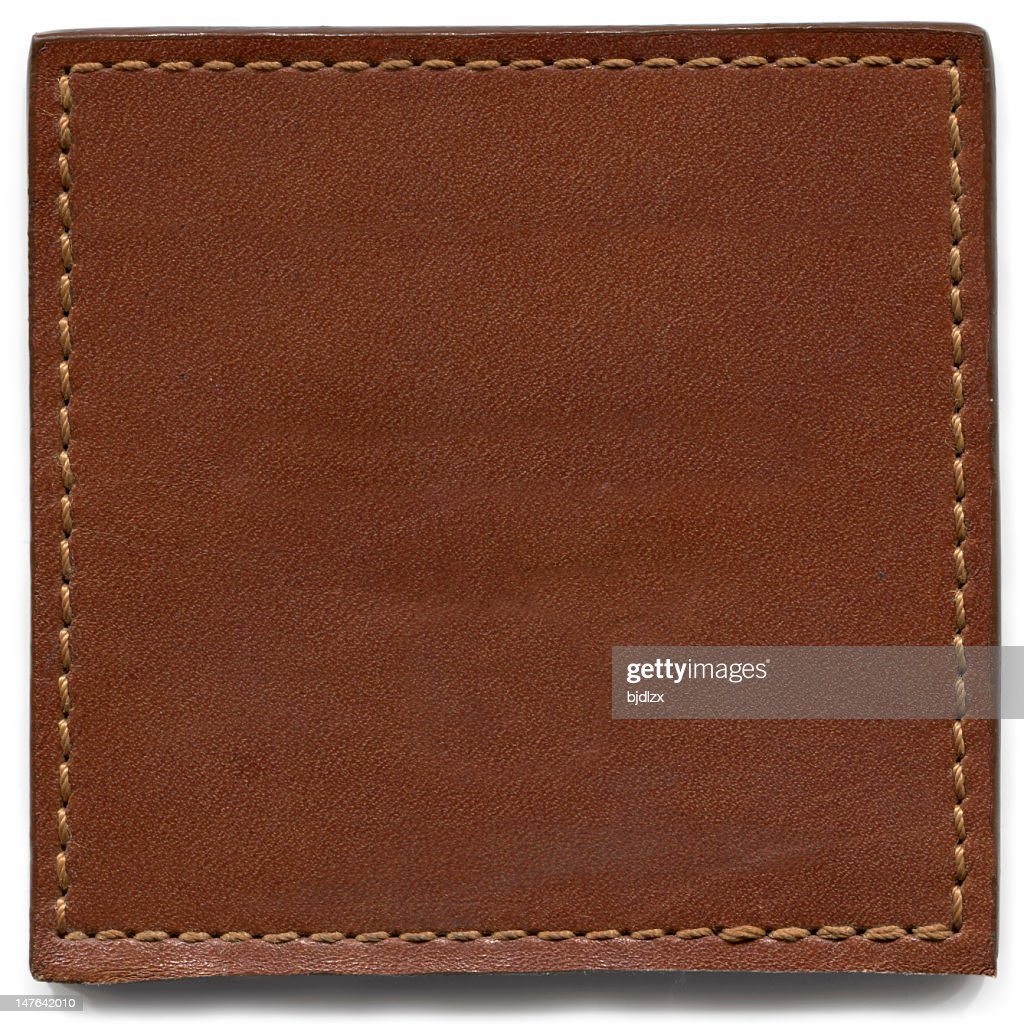 Brown Leather Texture : Stock Photo