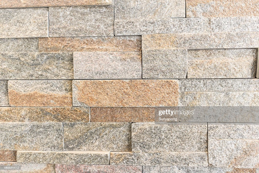 Brown marble wall texture and background. : Stock Photo