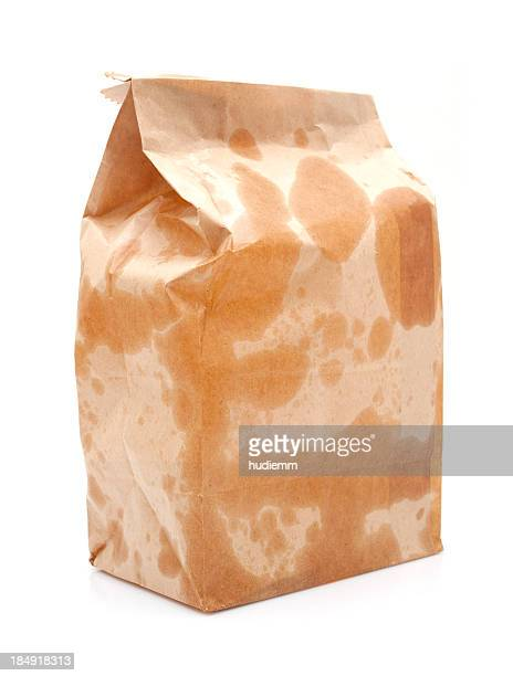 Braune Paper Bag