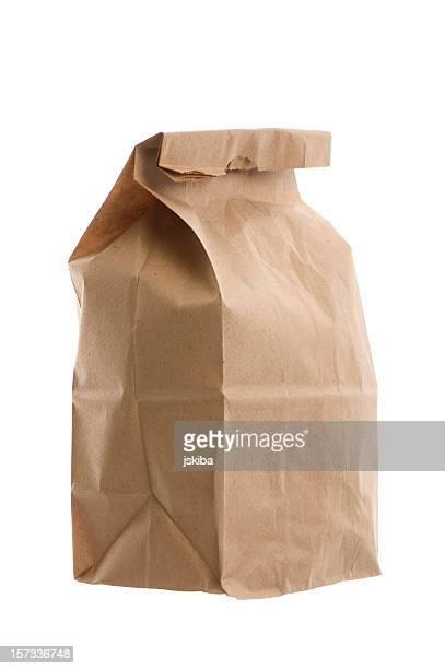 Déjeuner de sac de papier brun