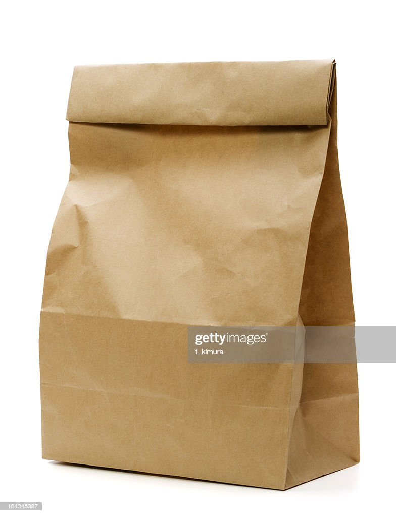 Brown Paper Bag : Stock Photo