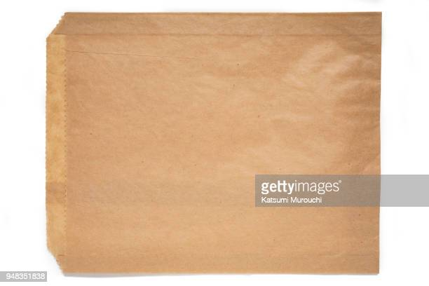 Brown paper bag texture background