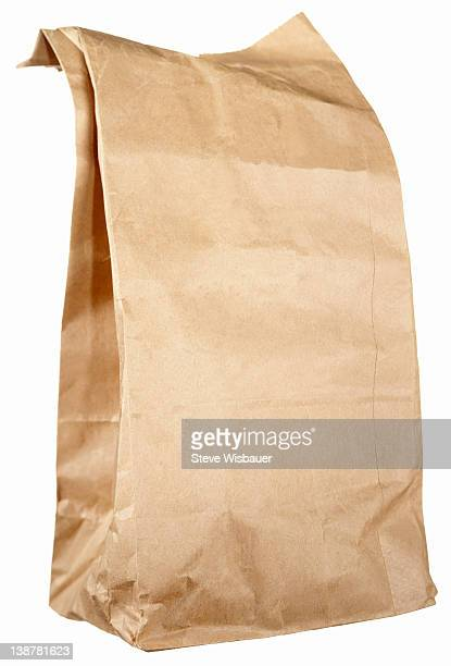 A brown paper lunch bag