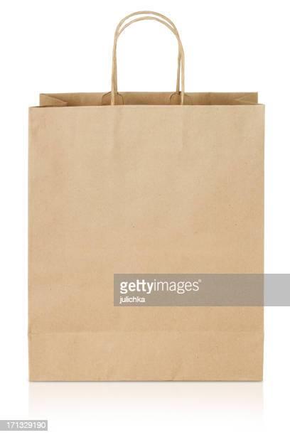 Papel marrón bolsa de la compra