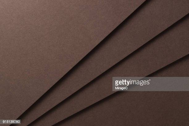 brown paper stacking - marrone foto e immagini stock