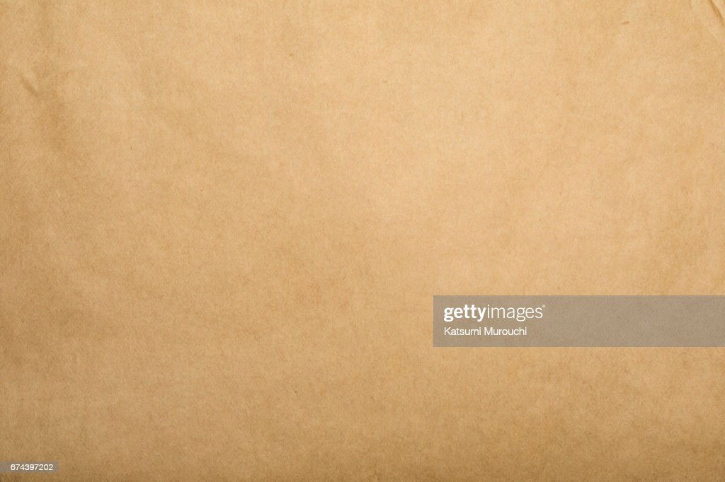 Brown paper textures background : Stock Photo