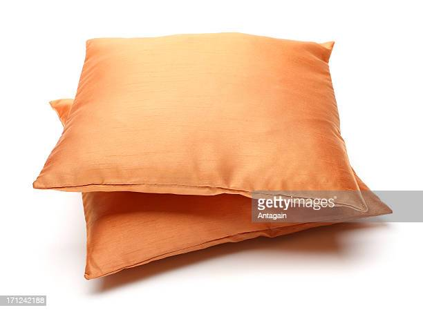 brown pillows - cushion stock photos and pictures