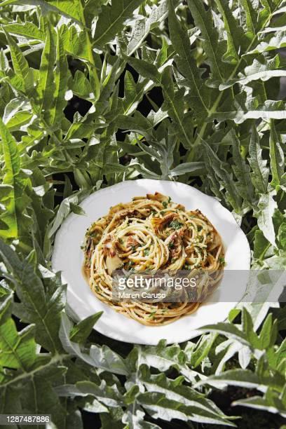 brown rice pasta - arroz integral - fotografias e filmes do acervo