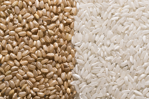 Brown Rice vs. White Rice - gettyimageskorea