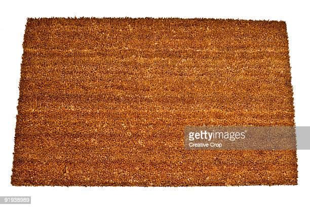 Brown rush doormat