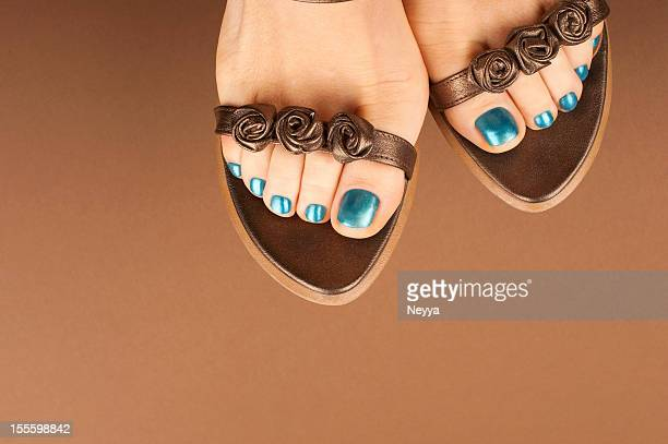 Sandálias de Castanho