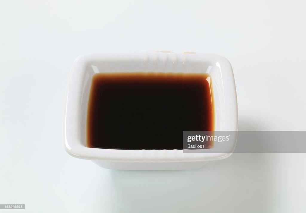 brown sauce : Stock Photo
