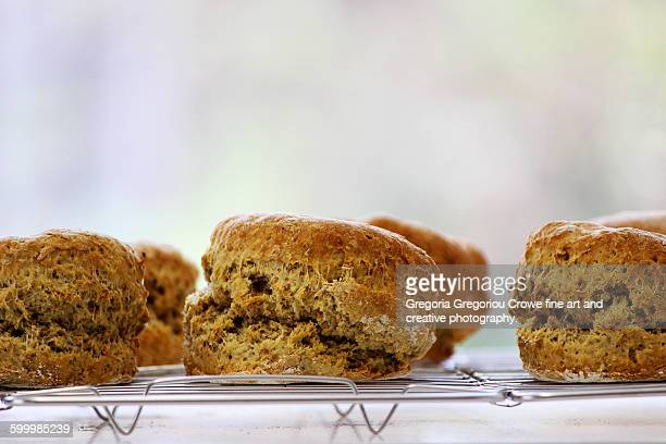 brown scones - gregoria gregoriou crowe fine art and creative photography stockfoto's en -beelden